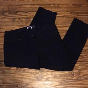 """Navy blue women's trousers size 20W inseam  30"""""""